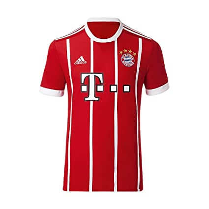best service 7fda7 3e3be Adidas FC Bayern Munich Home Replica Jersey Men's Soccer ...