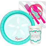 BirthdayExpress Little Spa Salon Makeover Party Supplies - Snack Party Pack