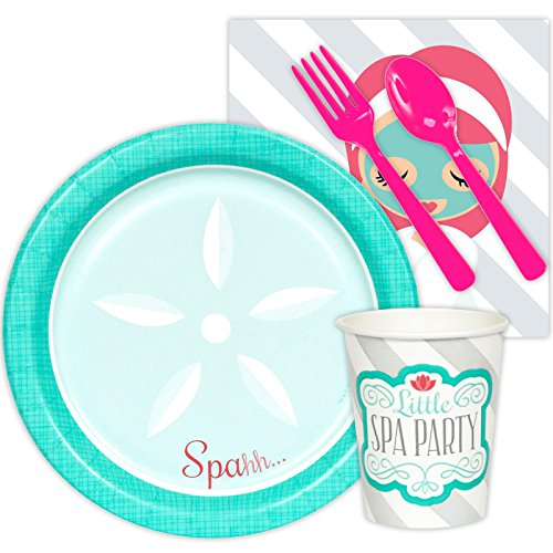 - BirthdayExpress Little Spa Salon Makeover Party Supplies - Snack Party Pack