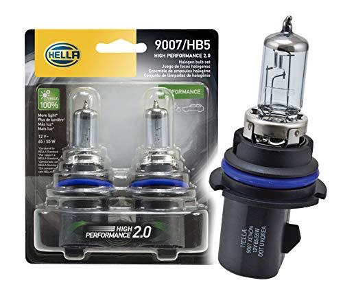 Performance 2001 Dodge Ram - HELLA 2.0TB HP2.0-65/55W High Performance 9007 Bulbs, 12V, 65/55W, 2 Pack