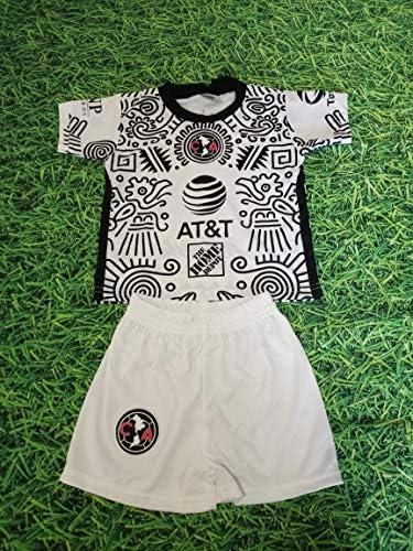 Club America Kid/'s Away Soccer Jersey niños Youth Futbol Jersey And Shorts