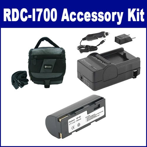 Ricoh RDC-i700 Digital Camera Accessory Kit includes: SDNP80 Battery, SDC-27 Case, SDM-144 Charger
