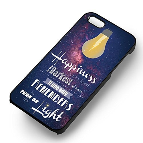 Harry Potter Movie Quote pour Coque Iphone 6 et Coque Iphone 6s Case (Noir Boîtier en plastique dur) Q8N8YV