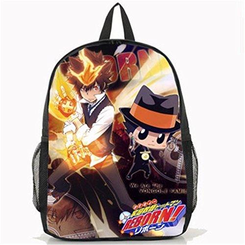 Katekyo Hitman Reborn Cosplay Costumes (YOYOSHome Anime Katekyo Hitman Reborn Cosplay Bookbag Laptop Bag Daypack Backpack School Bag)