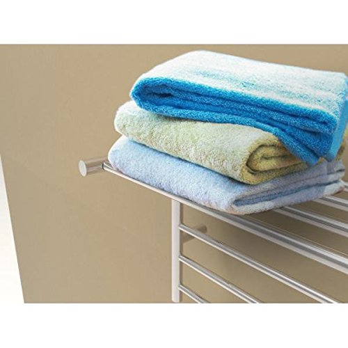 [해외]암바 RSH-B 벽걸이 형 타올 워머 (선반 포함), 스테인레스 스틸/Amba RSH-B Wall-Mounted Towel Warmer with Shelf, Brushed Stainless