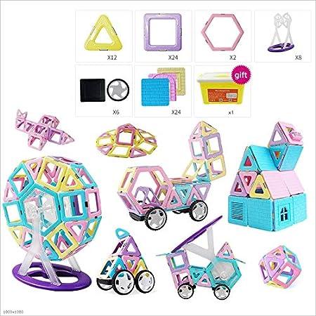 Tagke Bloques de piezas magnéticas 1-2-3-6-10 Años de edad ...