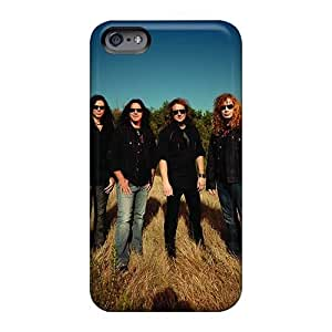 Iphone 6plus Case, Premium Protective Case With Awesome Look - Megadeth Band