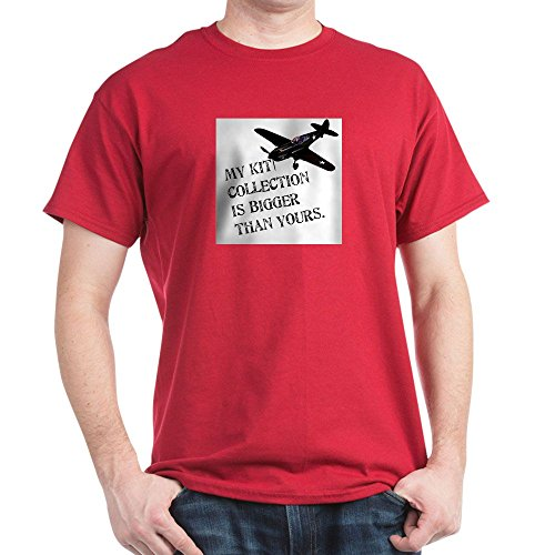 CafePress Model Kit Collection T-Shirt 100% Cotton T-Shirt Cardinal ()