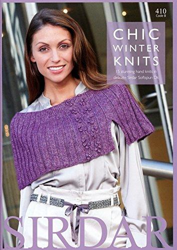 Sirdar-410 Sirdar Chic Winter Knits 410 Knitting Pattern Book DK