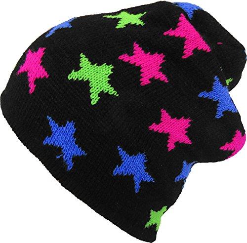 Estrellas de hombre Brubaker negro Gorro para punto q5UwFBt
