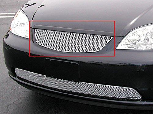 2001-2003 HONDA CIVIC (Non SI Models) UPPER GRILLE (Aluminum Silver) ()