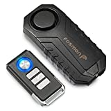 Fosmon 113dB Waterproof Wireless Anti-Theft Vibration Motorcycle Cycling Bike Alarm with Remote Control