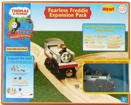 Thomas Friends Wooden Railway Fearless Freddie Expansion Pack