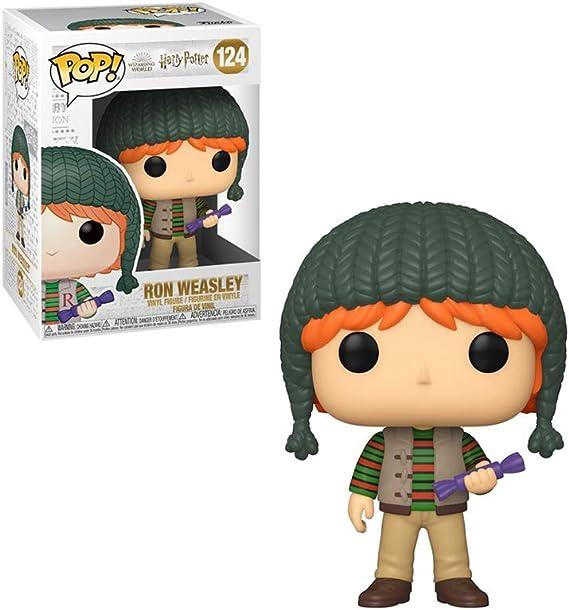 Funko- Pop Harry Potter: Holiday-Ron Weasley S11 Figura Coleccionable, Multicolor (51154)
