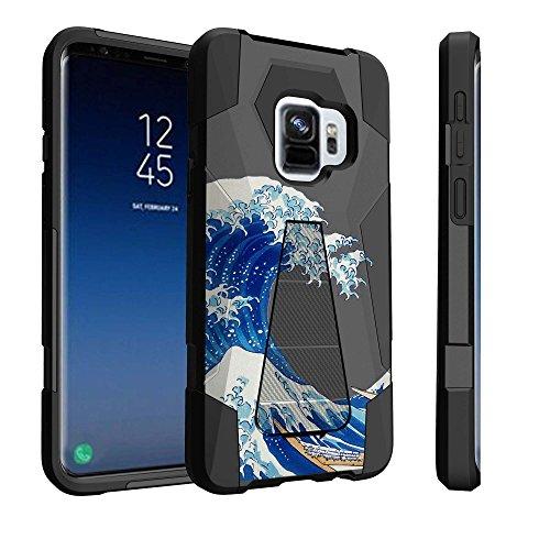 Untouchble Case for Samsung Galaxy S9 Plus, S9+ Case [Traveler Series] Shock Absorbing Drop Protection Dual Layer Case - Blue Ocean ()