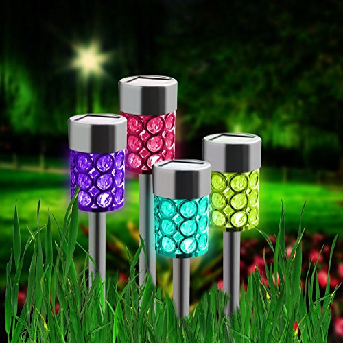 Solar Garden Lights That Change Colour in US - 5