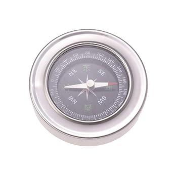 Hemobllo Reloj de precisión brújula Acero Inoxidable Reloj ...