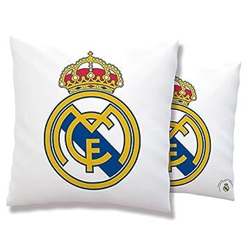 Cojin antiestres Real Madrid Escudo: Amazon.es: Juguetes y ...