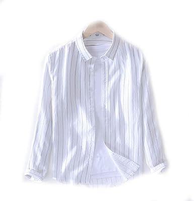 Sangni Solapa en Camisa Blanca Salvaje de Manga Larga, Blanca, XXXL: Amazon.es: Ropa y accesorios