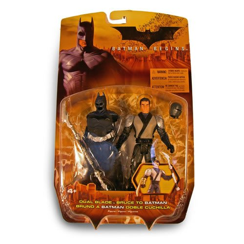 Amazon.com : Batman Man Begins Dual Blade Ninja Bruce Wayne ...