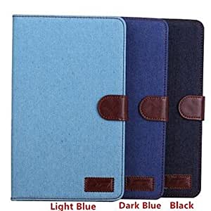 GJY Cowboy Lines Leather Case with Card Slot for Samsung Galaxy Tab S 8,4 T700(Assorted Colors) , Dark Blue