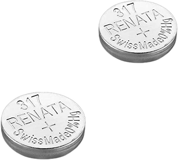 2 X Renata Uhrenbatterie Swiss Made Cells Silberoxid Elektronik