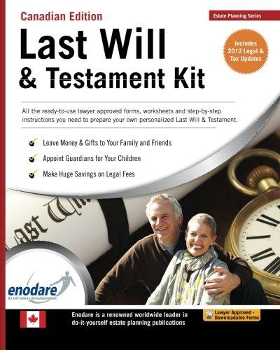 Last will and testament kit enodare 9781906144562 amazon books solutioingenieria Gallery