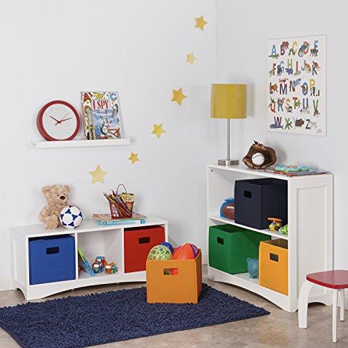 80%OFF RiverRidge Kids 02 011 2 Piece Folding Storage Bin, Blue