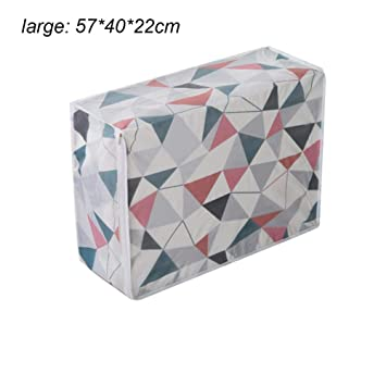 06df150d6 Roful Clothes Bolsas de Almacenamiento con Cremallera, Impermeables,  Resistentes a la Humedad, Grandes