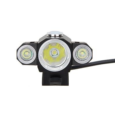 10000LM 3x XML T6 4,2 V LED Vélo avant l'angle réglable lumière phare de vélo et la rotation de la batterie double utilisation