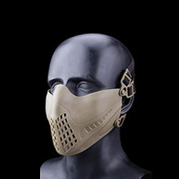 QAQ QP Casco Moto Máscara Traje Exterior Táctico Adulto ...