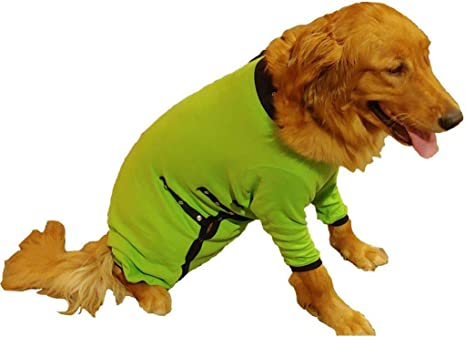 Cover Me by Tui Adjustable Fit Step-into with Short Sleeve for Pets Yellow XX-Large