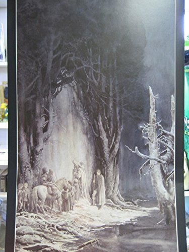 (LOTR Frameable Fine Art Poster THE WEST GATE OF MORIA 1999 ALAN)