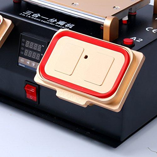 YaeTek 3 IN 1 MIDDLE BEZEL FRAME SEPARATOR MACHINE+ LCD SCREEN +BUILT IN VACUUM PUMP by YaeTek (Image #3)