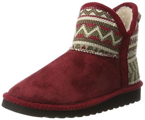Pantofola Da Donna Rossa Casa Manitu 370042-41 Rosso