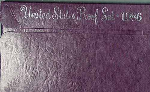 1986 S U.S. 5 Piece Proof Coin Set 1, 5, 10, 25, 50 cents Brilliant Uncirculated