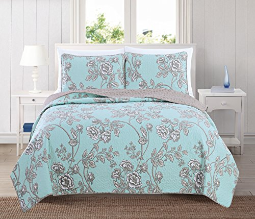 Cheapest Price! Home Fashion Designs Sharon Collection 2-Piece Luxury Quilt Set with Sham. Soft All-...