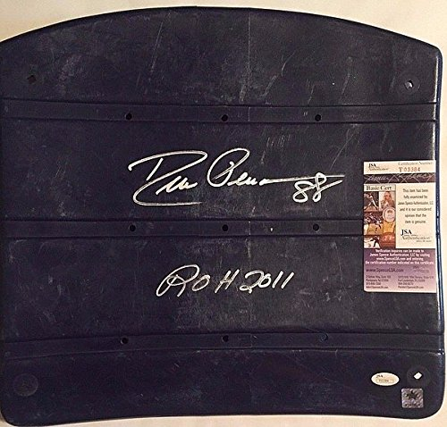 - Drew Pearson Signed Texas Stadium Seat Bottom 'ROH 2011' - JSA Certified