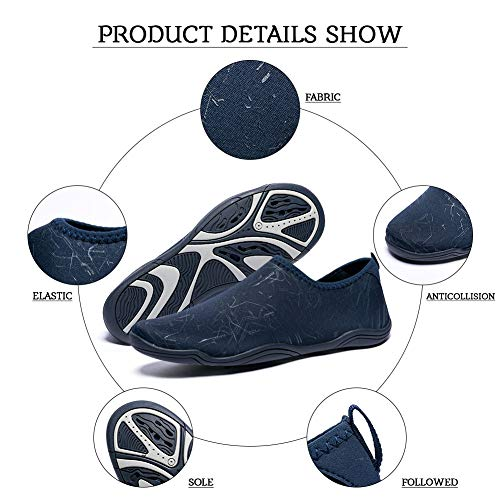 Beach st Diving Garden for Shoes Blue Lightweight Walking Sports Madaleno Swim Surfing Driving Womens Dry Mens Boating Water Aqua Quick Yoga Shoes PUqxv6x15n