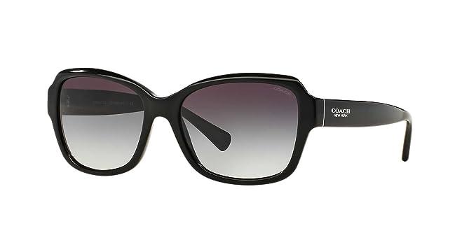 Amazon.com: Coach HC8160 - Gafas de sol para mujer, Negro ...