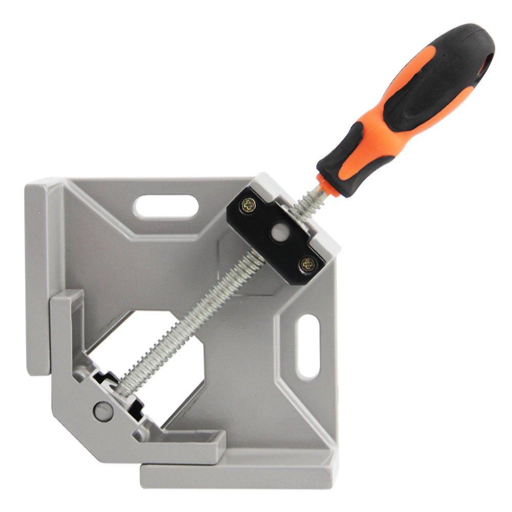 SAND MINE 90 Degree Corner Clamp, Corner Clamp Adjustable Vise for Wood-working, Engineering, Welding, Carpenter, Photo Framing