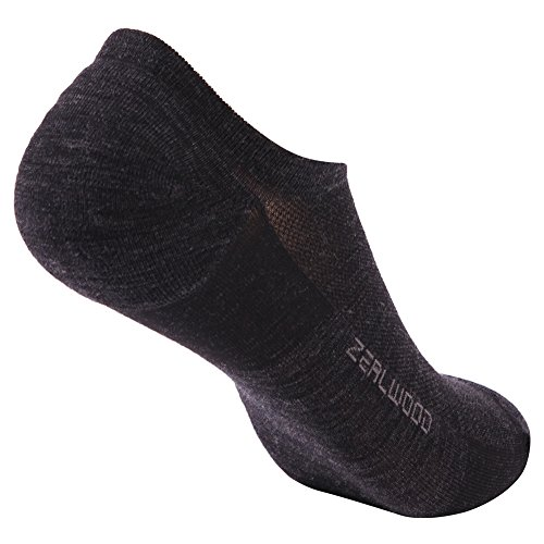 ZEALWOOD Merino Wool Socks, Anti Blister No Show Running Socks Socks Women and Men Kids Athletic Socks by ZEALWOOD (Image #8)