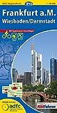 ADFC-Regionalkarte Frankfurt a. M. Wiesbaden/Darmstadt mit Tagestouren-Vorschlägen, 1:50.000, reiß- und wetterfest, GPS-Tracks Download (ADFC-Regionalkarte 1:50000)