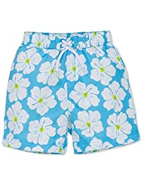 Little Me Floral-Print Swim Trunks, Baby Boys (0-24 months)