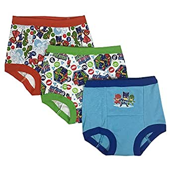 PJ Masks Boys BTP5117 3-Pack Underwear - Multi - 2T