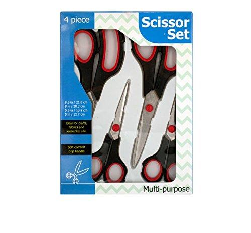 Scissor Set - 4 pieces Set by DirectSaleUSA (Image #1)
