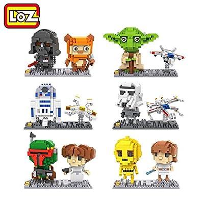 LOZ Diamond Blocks Star Wars Series Set of 6