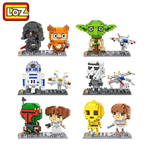 Star Wars Building Set of 6