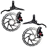 CLARK'S M2 MTB Hydraulic Disc Brake Set 850/1700mm Black Includes Rotors