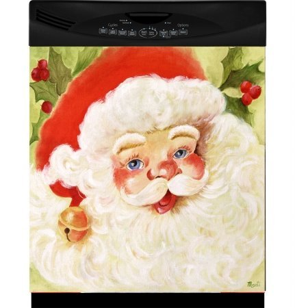 Appliance Art Santas Dishwasher Cover